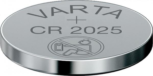 Batterie Varta Knopfzelle Lithium CR2025 3V
