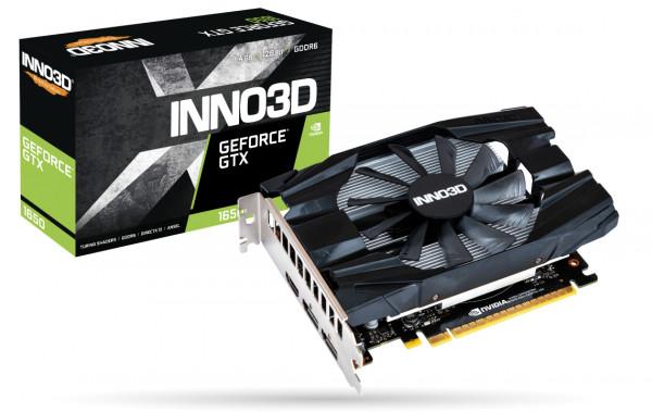 Grafikkarte Inno3D GeForce GTX1650 4GB Compact
